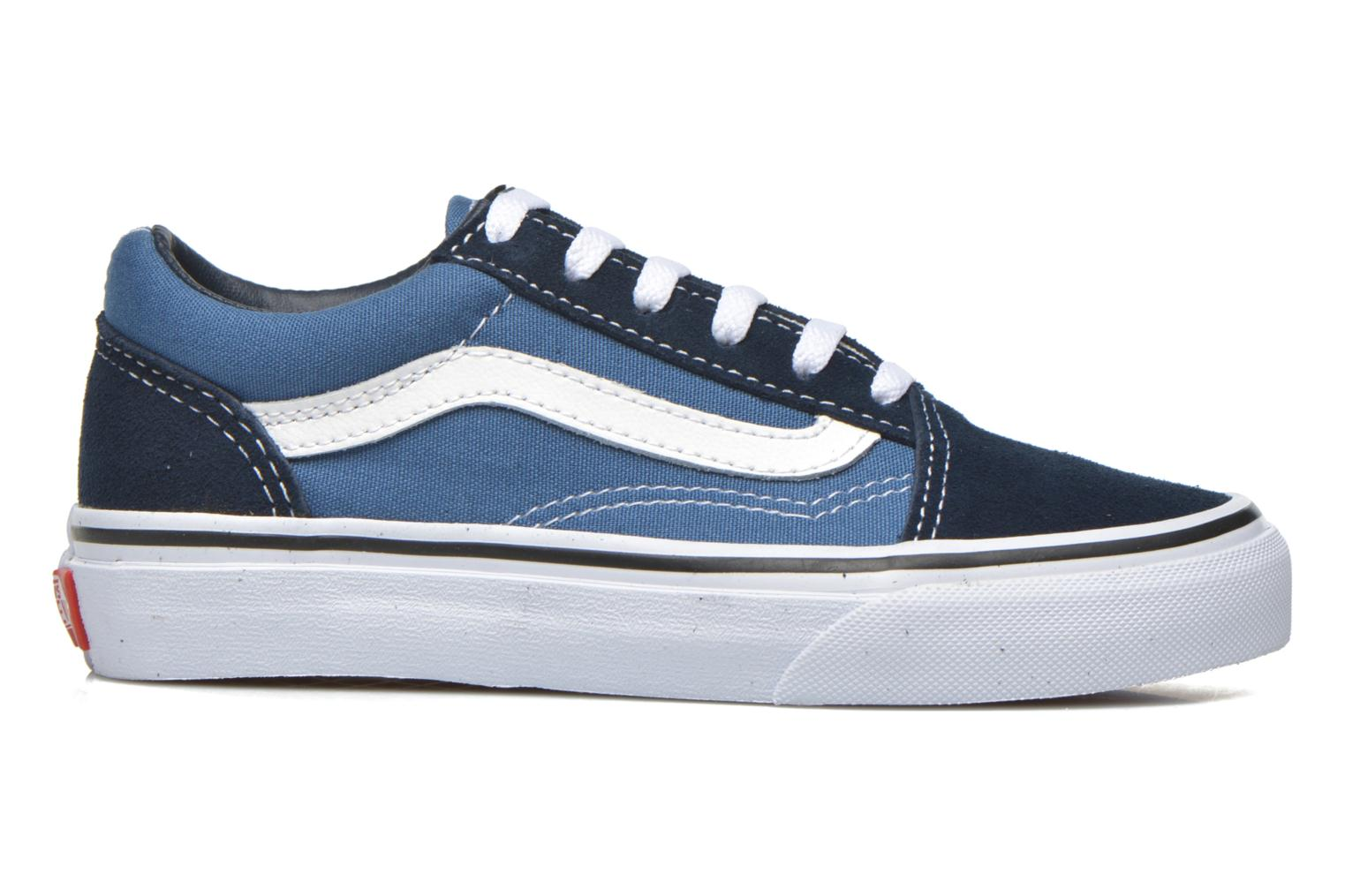 Trainers Vans Old Skool E Blue back view