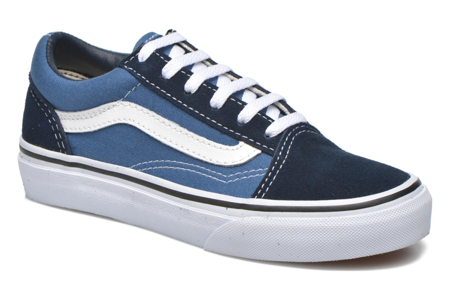 Trainers Vans Old Skool E Blue detailed view/ Pair view