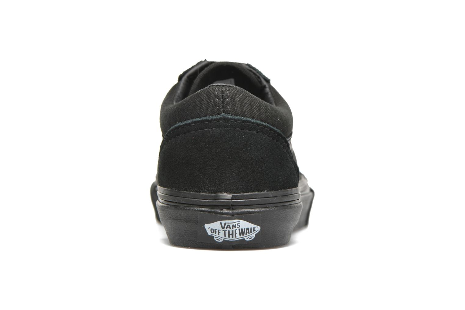 (Glitter) Rainbow Black Vans Old Skool E (Noir)