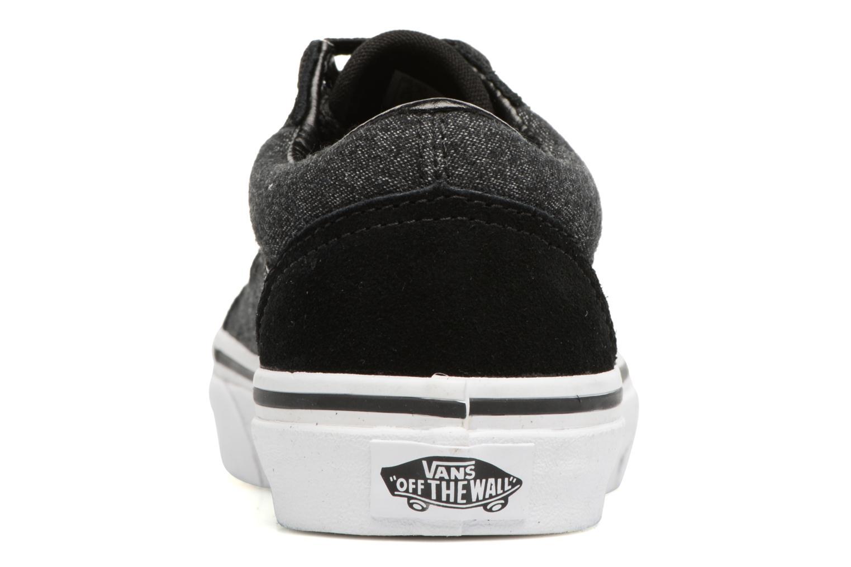 Sneaker Vans Old Skool E schwarz ansicht von rechts