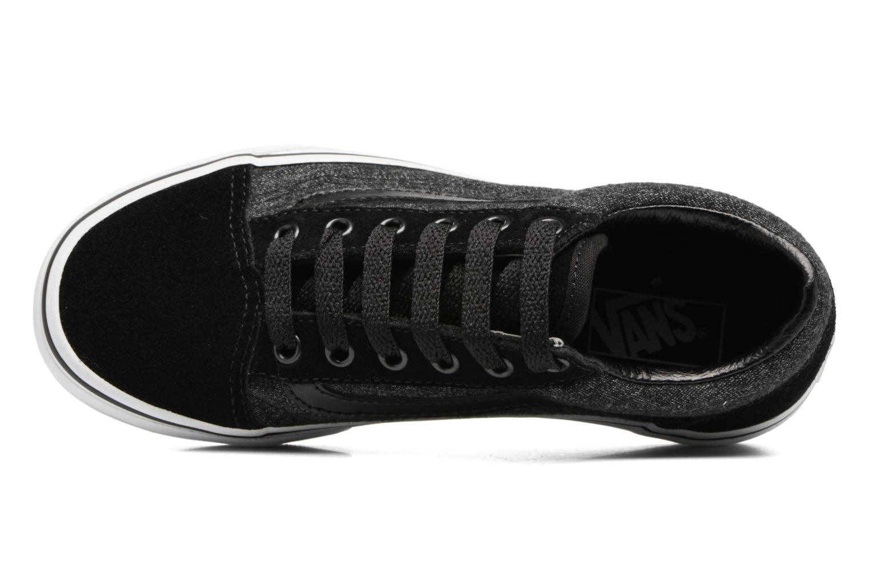 Sneakers Vans Old Skool E Nero immagine sinistra