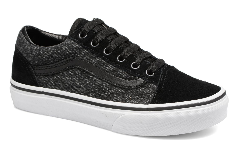 Sneaker Vans Old Skool E schwarz detaillierte ansicht/modell