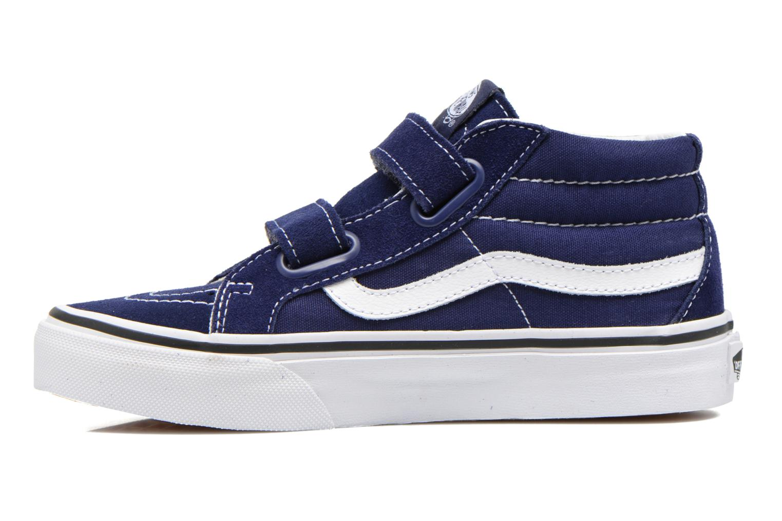 Flying Ace/Dress Blues (Peanuts) Vans SK8-Mid Reissue V (Bleu)