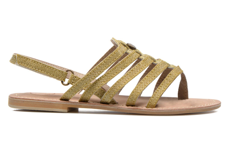 Sandaler Initiale Paris Menthe K Bronze och Guld bild från baksidan