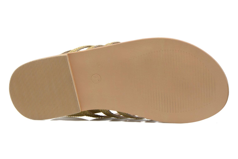 Sandali e scarpe aperte Initiale Paris Menthe K Oro e bronzo immagine dall'alto