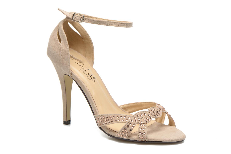 initiale paris sagama beige sandales et nu pieds chez sarenza 234384. Black Bedroom Furniture Sets. Home Design Ideas