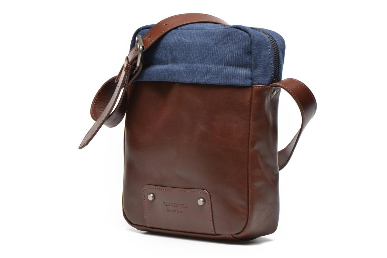 Men's bags Antonyme by Nat & Nin Matteo Blue model view
