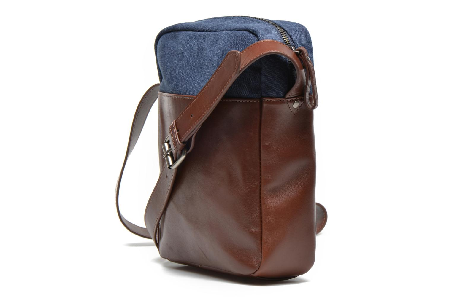 Men's bags Antonyme by Nat & Nin Matteo Blue view from the right