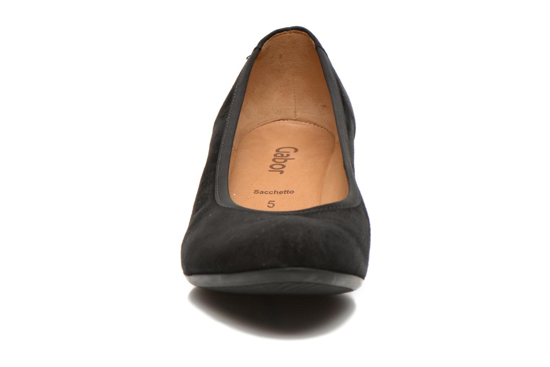 Escarpins Gabor Halia Noir vue portées chaussures
