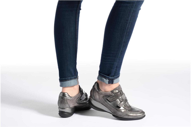 Sneakers Geox D PERSEFONE A D540RA Zwart onder