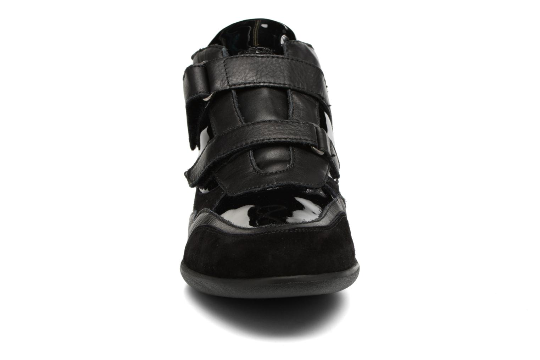 Sneaker Geox D PERSEFONE A D540RA schwarz schuhe getragen