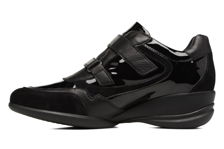 Sneakers Geox D PERSEFONE A D540RA Zwart voorkant
