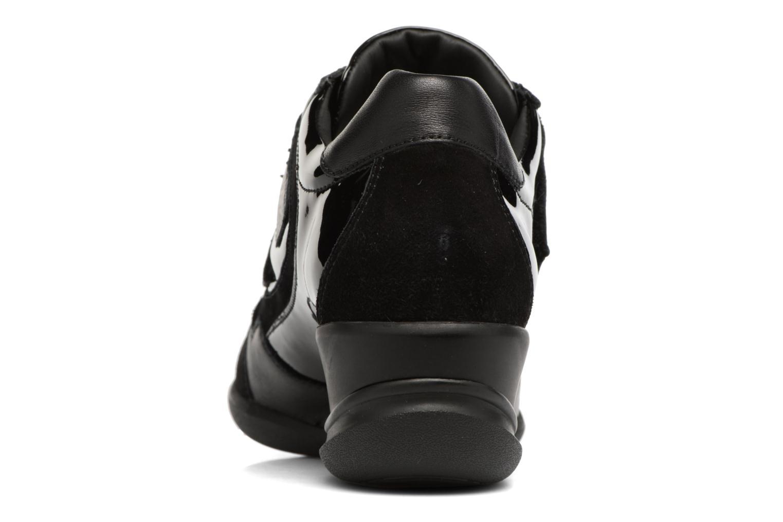 Sneakers Geox D PERSEFONE A D540RA Zwart rechts