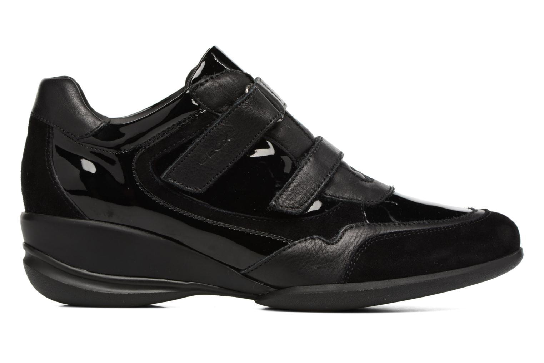 Sneakers Geox D PERSEFONE A D540RA Zwart achterkant