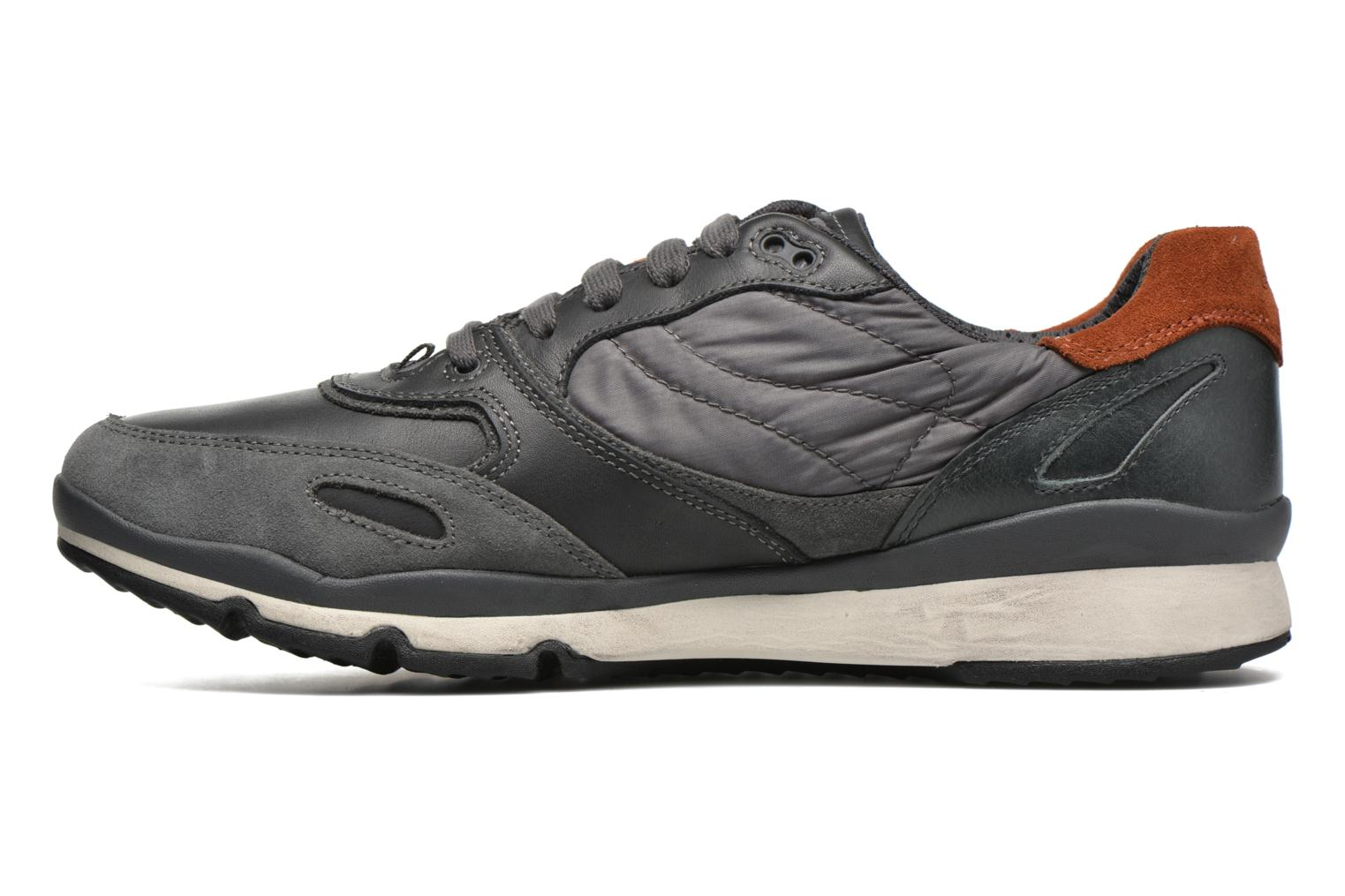 Trainers Geox U SANDRO B ABX A U44S7A Grey front view