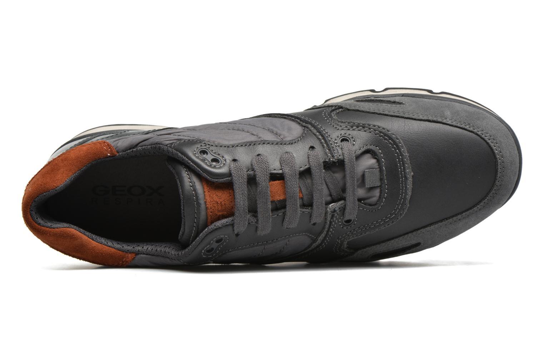 Sneaker Geox U SANDRO B ABX A U44S7A grau ansicht von links