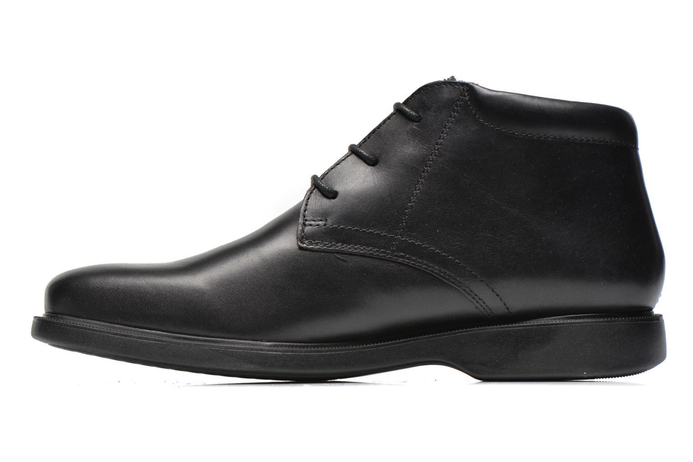 Chaussures à lacets Geox U BRAYDEN 2FIT ABX D U54N1D Noir vue face