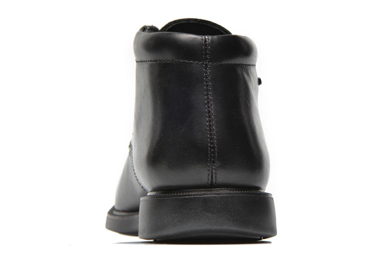 Chaussures à lacets Geox U BRAYDEN 2FIT ABX D U54N1D Noir vue droite