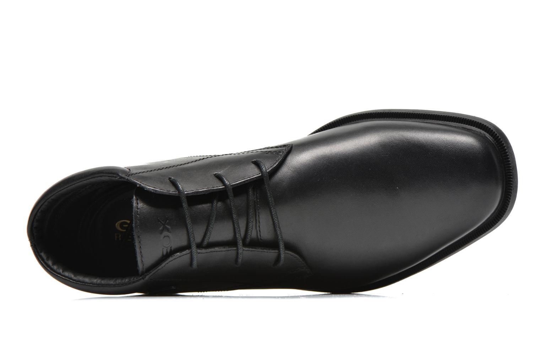 Chaussures à lacets Geox U BRAYDEN 2FIT ABX D U54N1D Noir vue gauche
