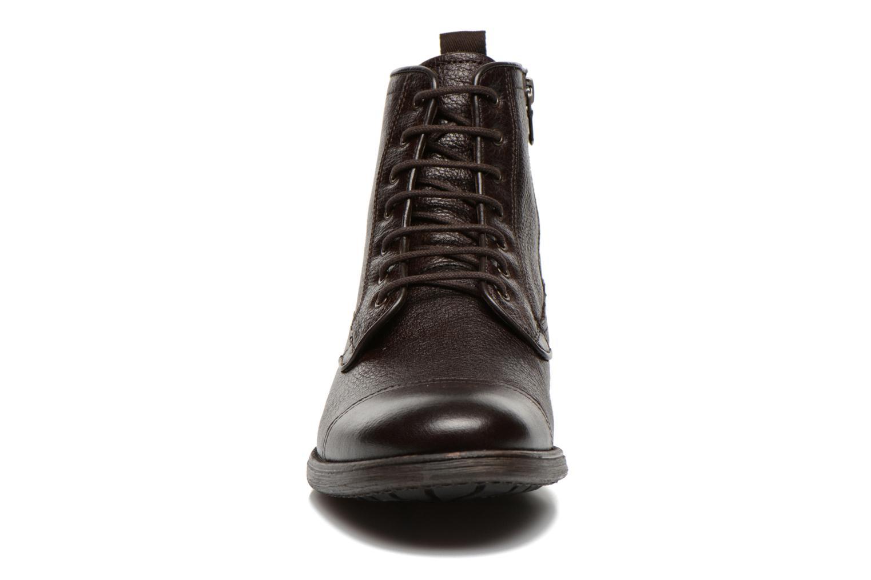 Bottines et boots Geox U JAYLON B U54Y7B Marron vue portées chaussures