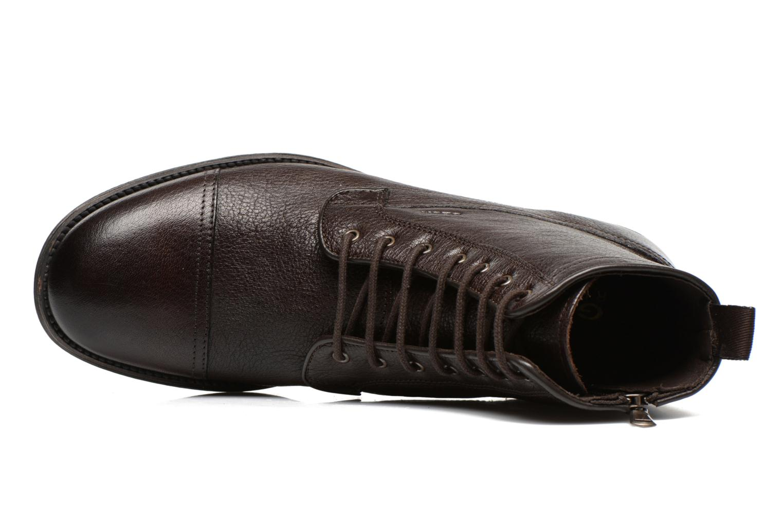 Bottines et boots Geox U JAYLON B U54Y7B Marron vue gauche