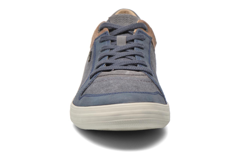 Sneaker Geox U BOX D U54R3D blau schuhe getragen