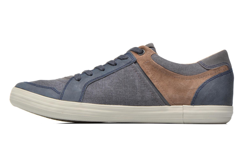 Sneaker Geox U BOX D U54R3D blau ansicht von vorne
