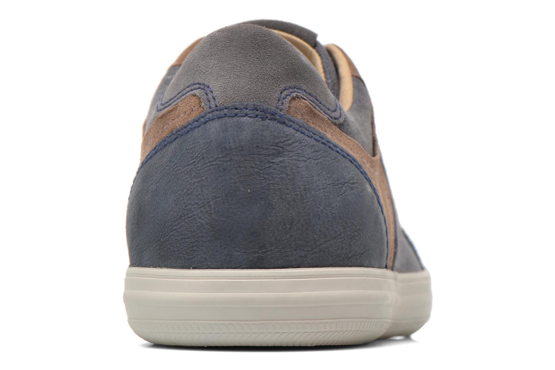 Sneaker Geox U BOX D U54R3D blau ansicht von rechts