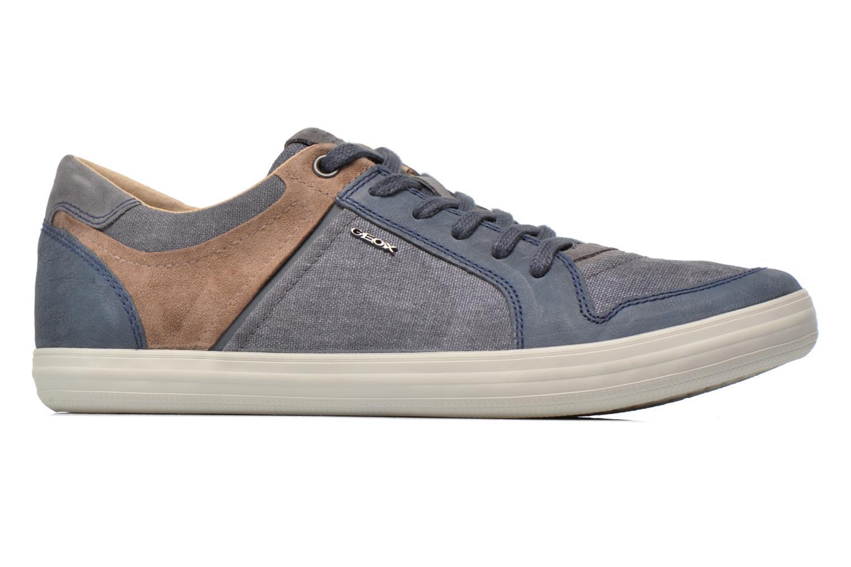 Sneaker Geox U BOX D U54R3D blau ansicht von hinten