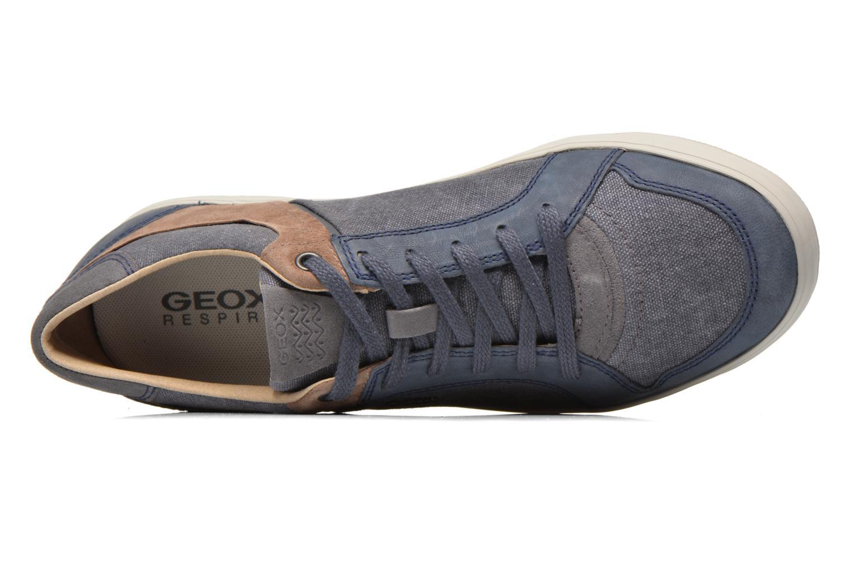 Sneaker Geox U BOX D U54R3D blau ansicht von links