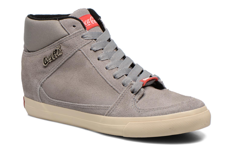 Coca-cola shoes Tamy Suede Gris xKVTbOGXxu