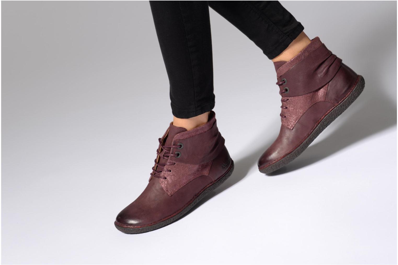 Stiefeletten & Boots Kickers HOBYLOW braun ansicht von unten / tasche getragen
