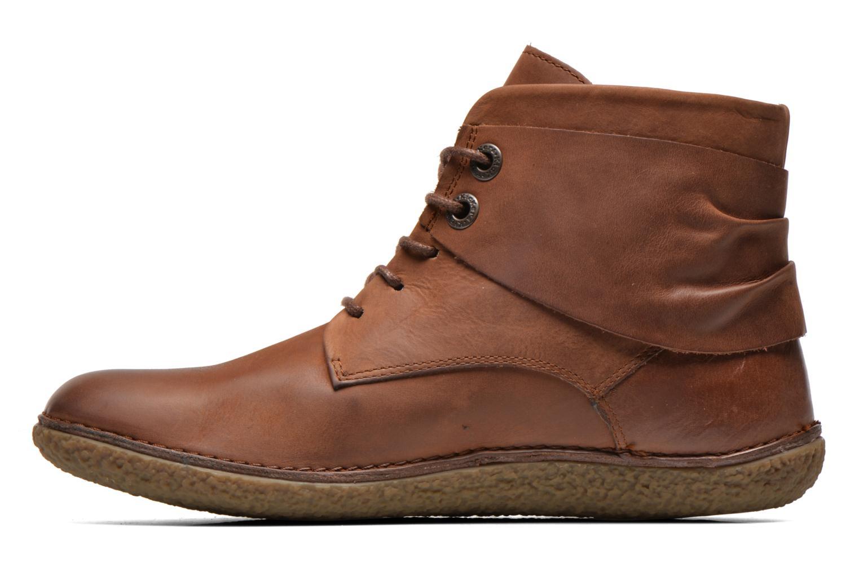 Stiefeletten & Boots Kickers HOBYLOW braun ansicht von vorne