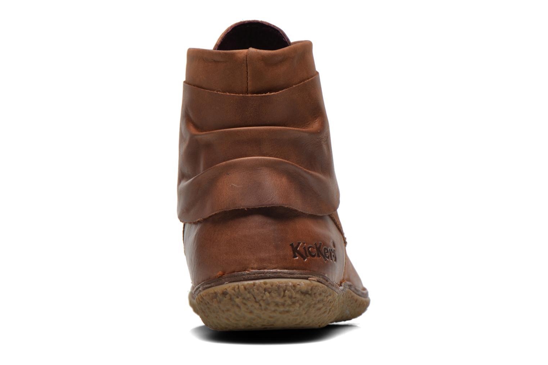 Stiefeletten & Boots Kickers HOBYLOW braun ansicht von rechts