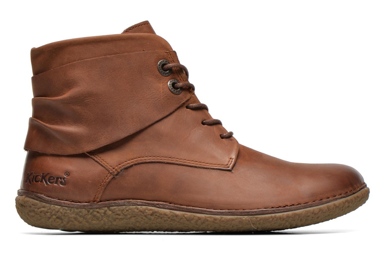 Stiefeletten & Boots Kickers HOBYLOW braun ansicht von hinten