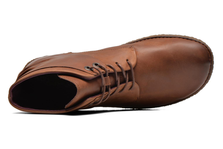 Stiefeletten & Boots Kickers HOBYLOW braun ansicht von links