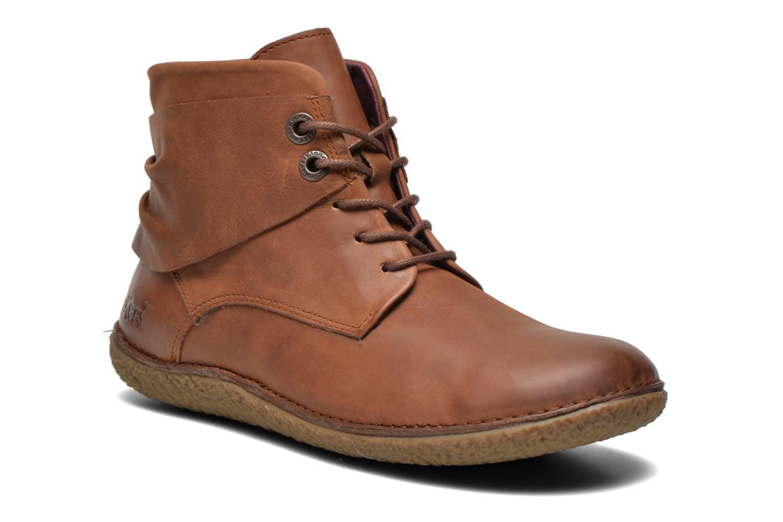 Stiefeletten & Boots Kickers HOBYLOW braun detaillierte ansicht/modell