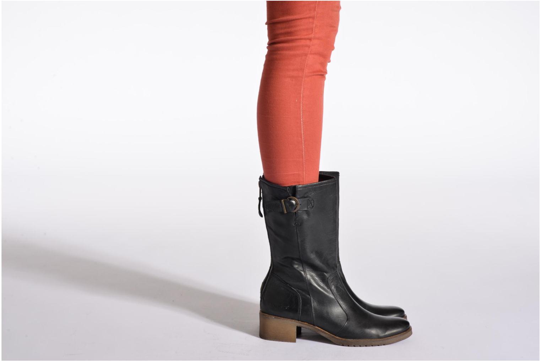 Stiefeletten & Boots Kickers Milanaise schwarz ansicht von unten / tasche getragen