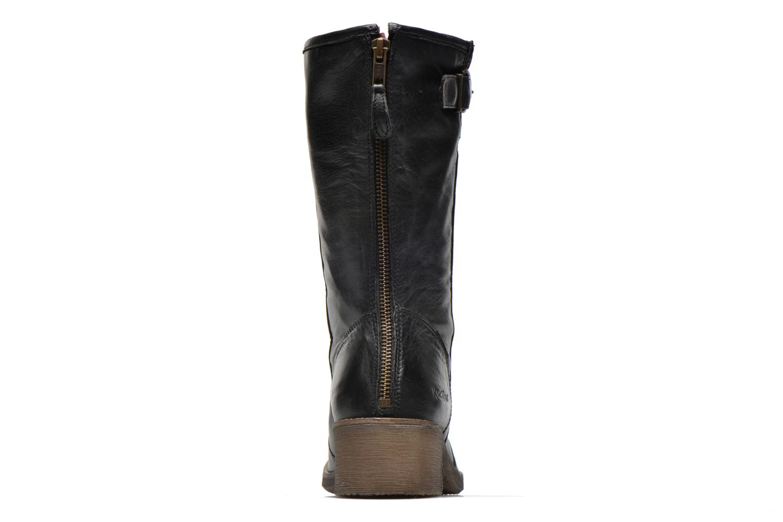Bottines et boots Kickers Milanaise Noir vue droite