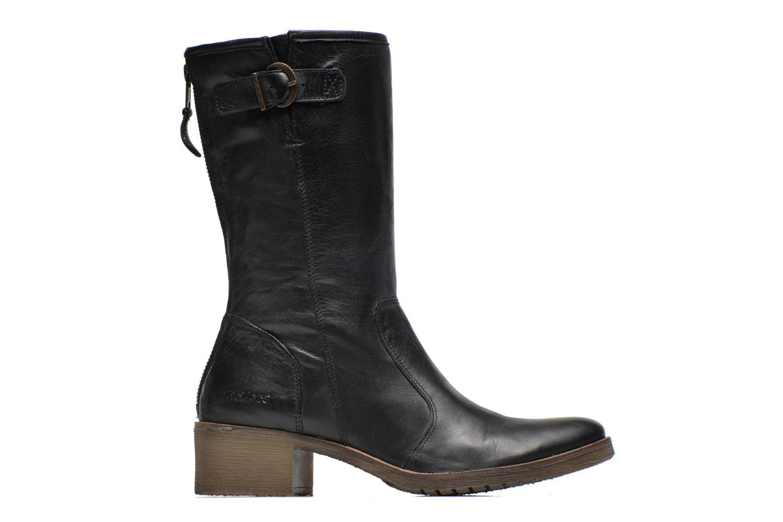 Bottines et boots Kickers Milanaise Noir vue derrière