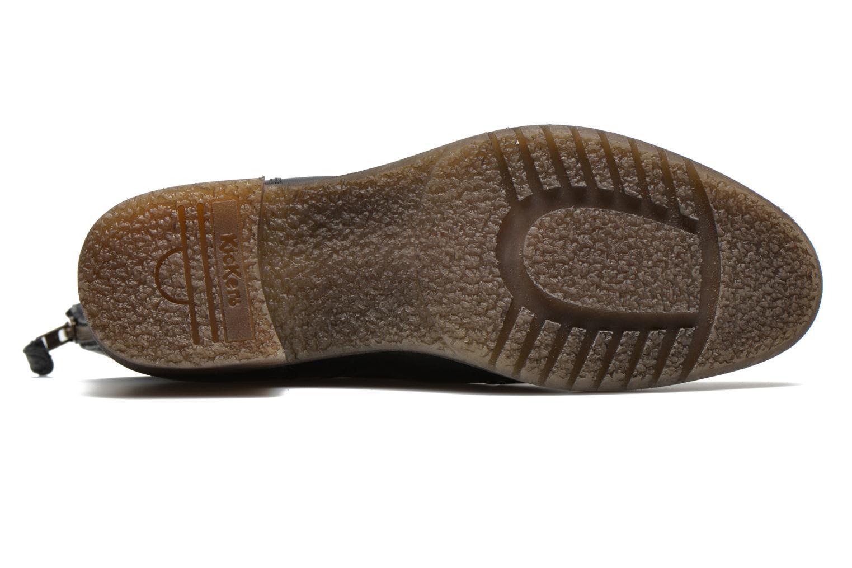 Stiefeletten & Boots Kickers Milanaise schwarz ansicht von oben