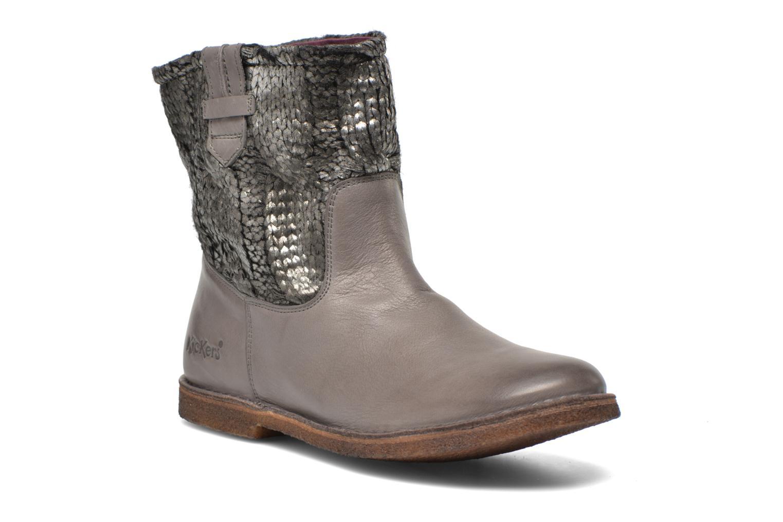 Bottines et boots Kickers cresson Gris vue détail/paire