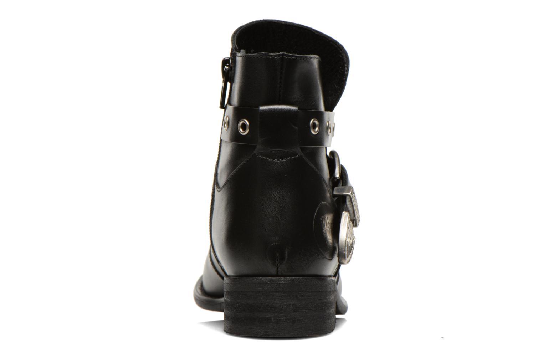Bottines et boots Yep Calypso Noir vue droite