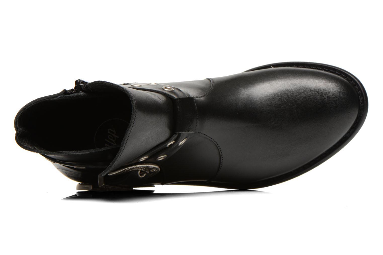 Boots en enkellaarsjes Yep Calypso Zwart links