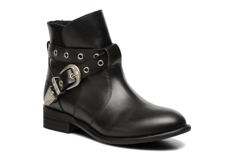 Boots en enkellaarsjes Yep Calypso Zwart detail