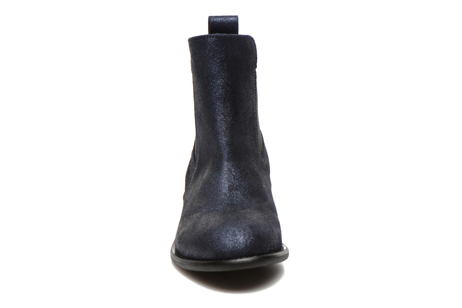 Ankle boots Yep Cannelle Blue model view