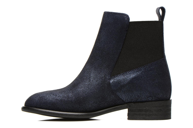 Boots en enkellaarsjes Yep Cannelle Blauw voorkant