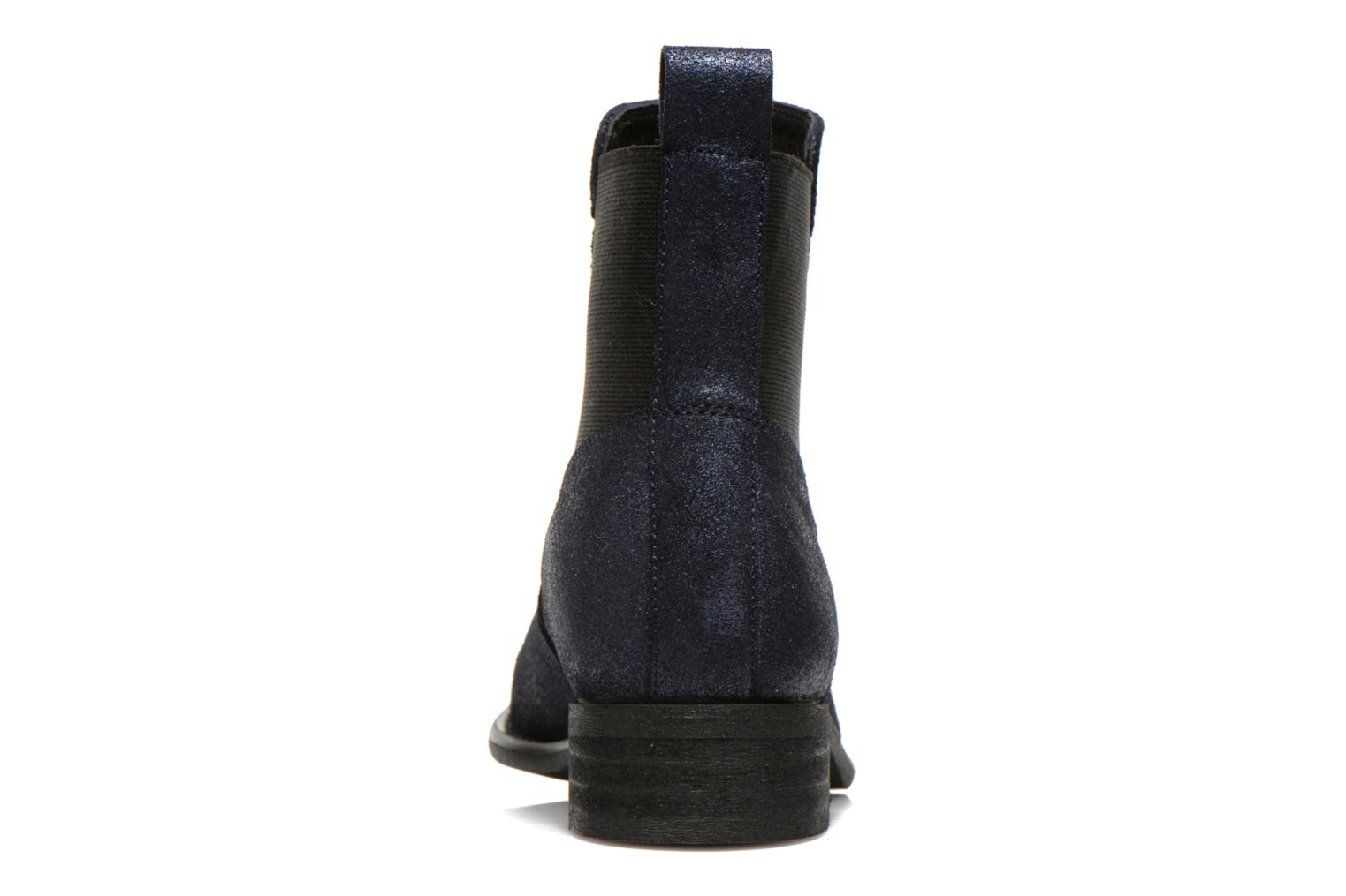 Ankle boots Yep Cannelle Blue view from the right