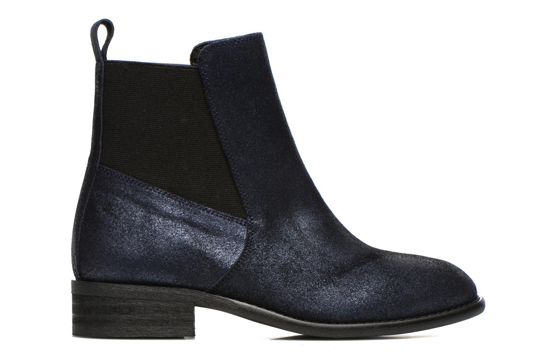 Bottines et boots Yep Cannelle Bleu vue derrière