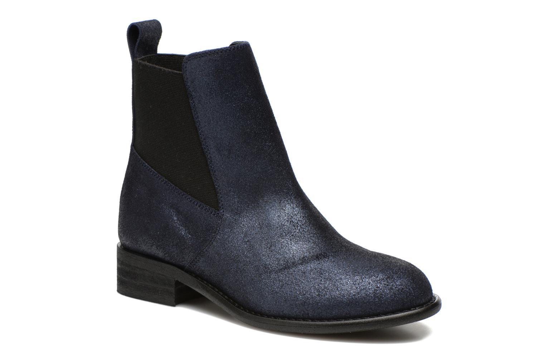 Bottines et boots Yep Cannelle Bleu vue détail/paire